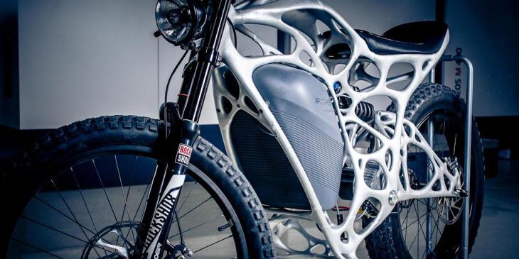 light rider 3d printing BBC