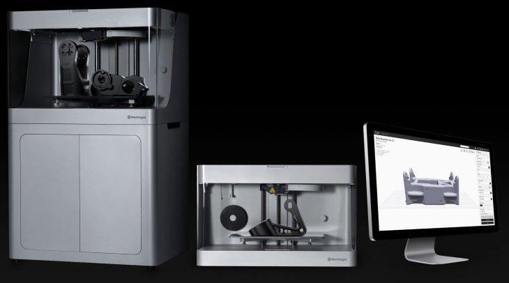 markforged 3d printer lineup