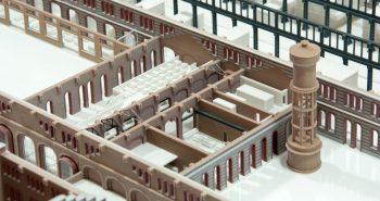 Modello 3D Stampa 3D Architettura Nuove OGR