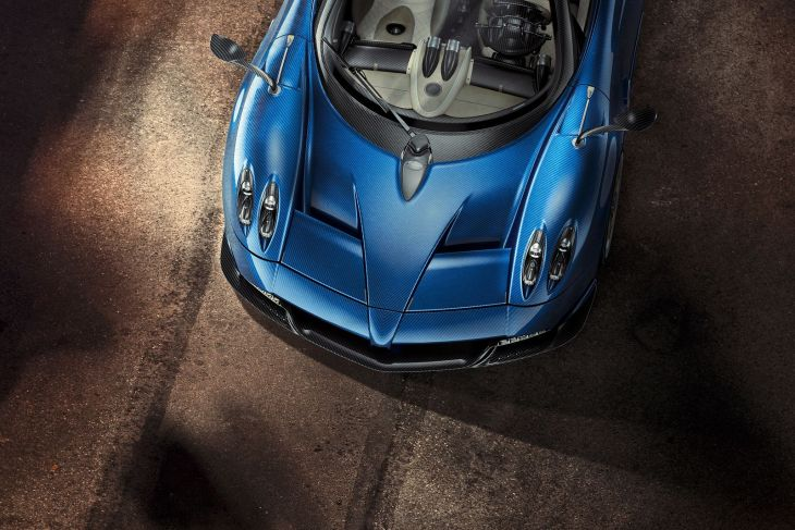 Huayra Roadster 3d customization
