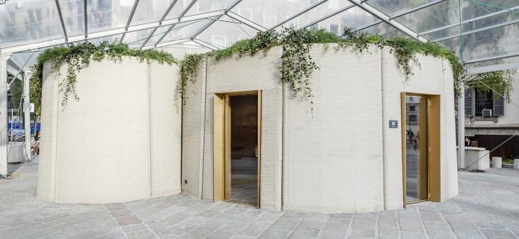3D|Housing05 coniuga la ricerca in molti ambiti tecnologici, che spaziano dall'architettura all'interior design, dai materiali alla produzione (credits Italcementi)