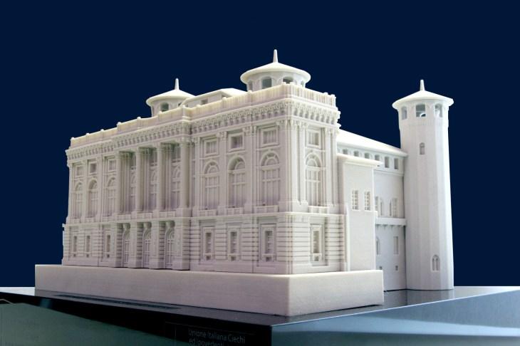 Palazzo Madama - Torino - tactile model