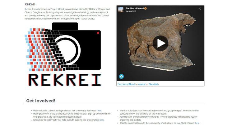 leone mosul stampa 3d REKREI projectmosul.org