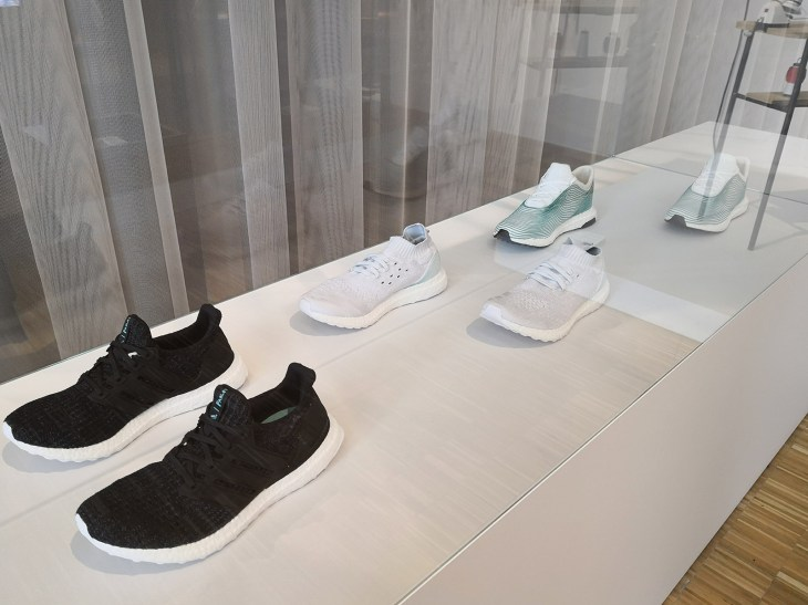 broken nature design - Adidas - Parley for Oceans 3D