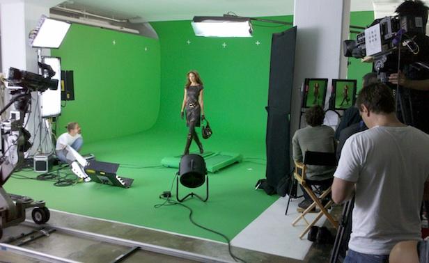 virtual fashion shooting 3D VR protocube reply
