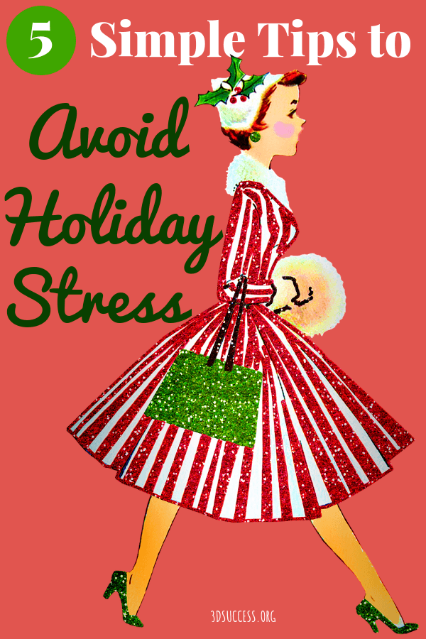 5 Simple Tips to Avoid Holiday Stress