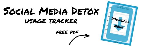 Social Media Detox Usage Tracker Freebie