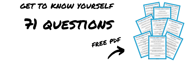 Get to Know Yourself 71 Questions PDF Download