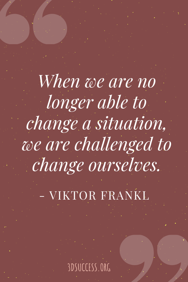 Frankl Quote Pin
