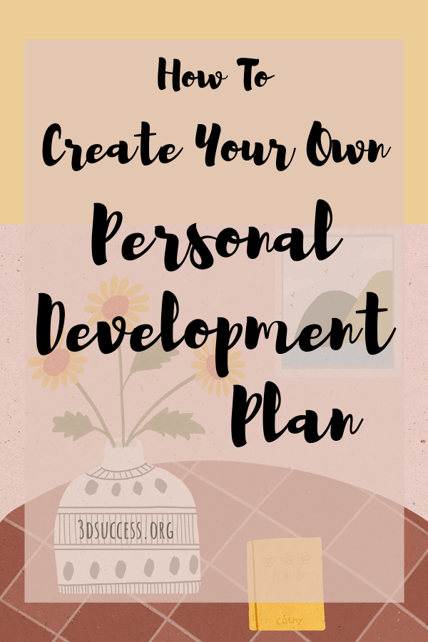 How to Create Your Own Personal Development Plan Pin