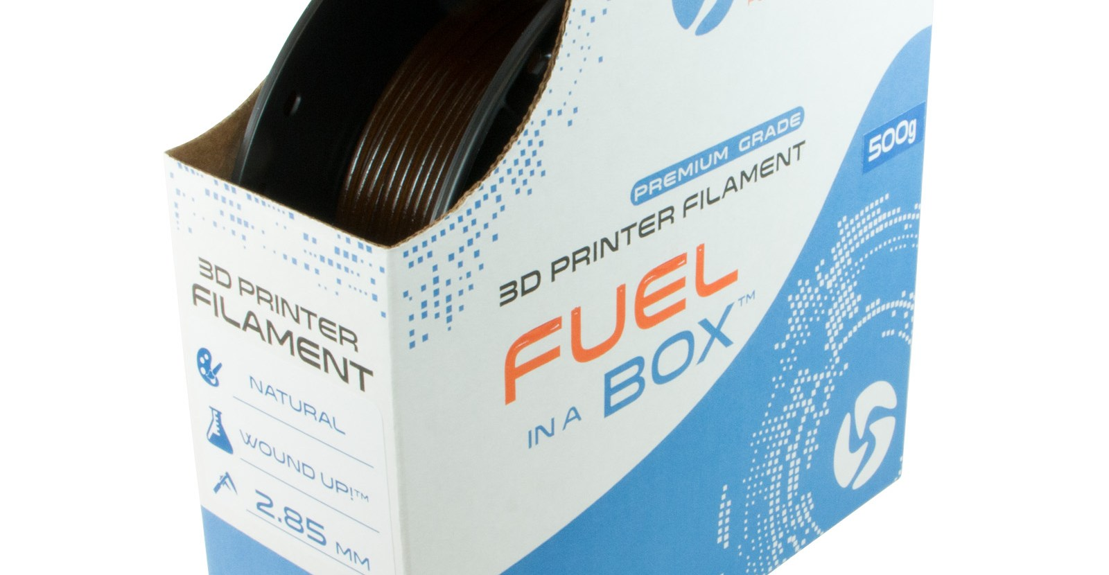 Wound Up - 3D Fuel Coffee Filament