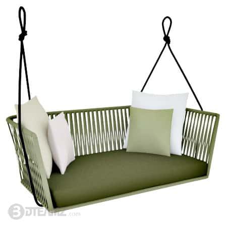 Kettal Bitta Swing Sofa 3D .