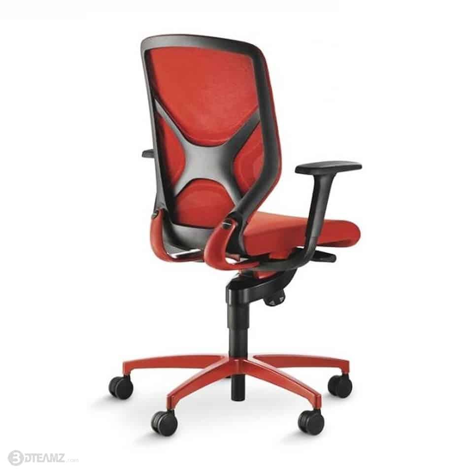 Wilkhahn in red office chair 3d model