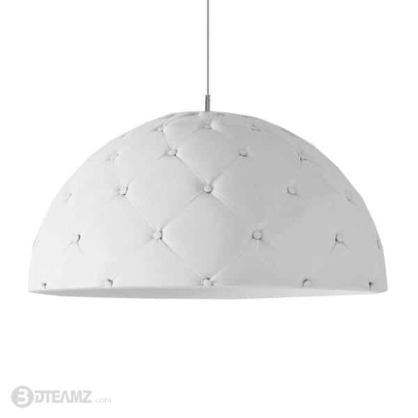 Enrico Zanolla Clamp White Lamp 3D Model