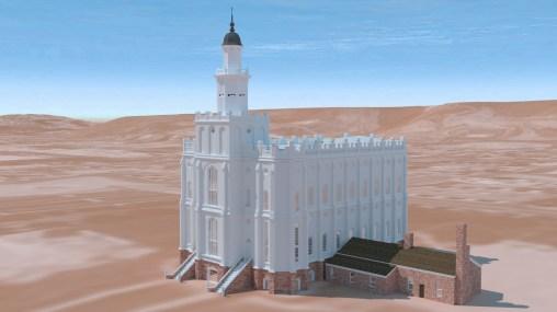 Saint George Utah Temple ~1883