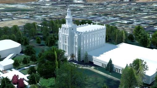 Saint George Utah Temple 2003