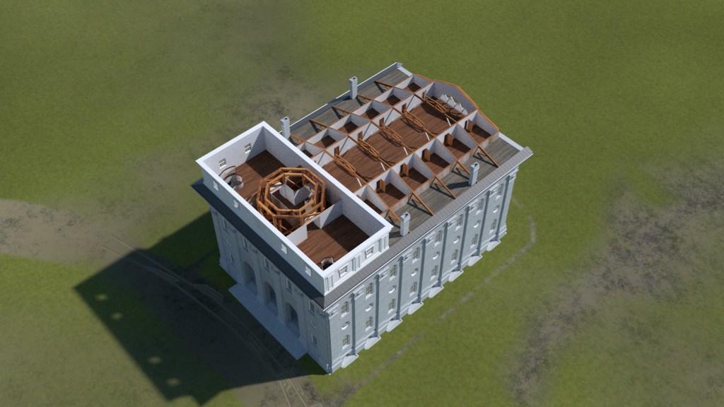 Nauvoo Temple Tower 1