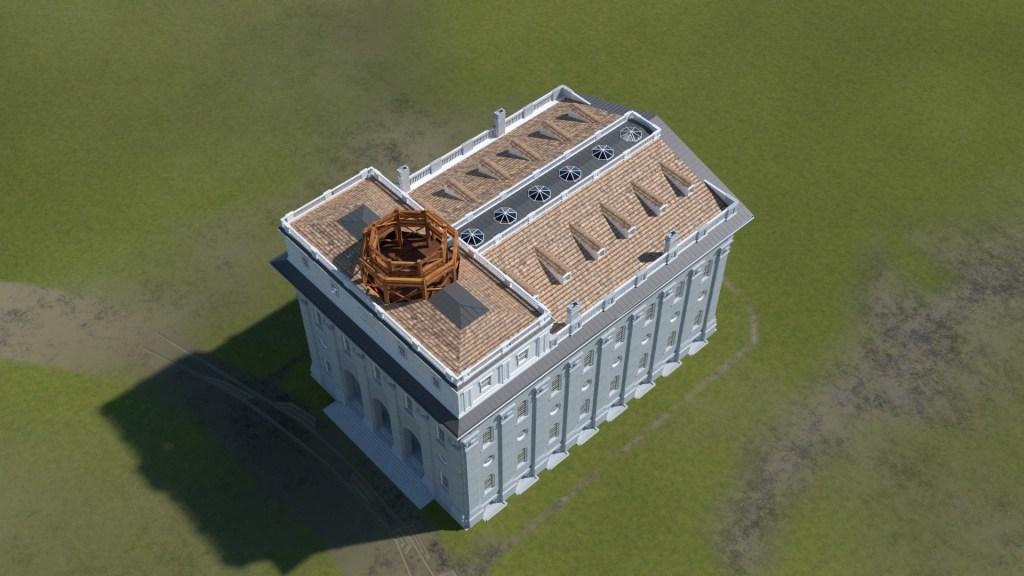 Nauvoo Temple Tower 2