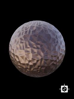 free seamless pbr metal hammered texture