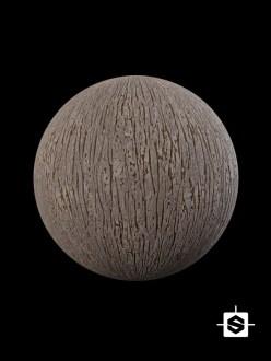 wood aged old base tree bark grooves weathered