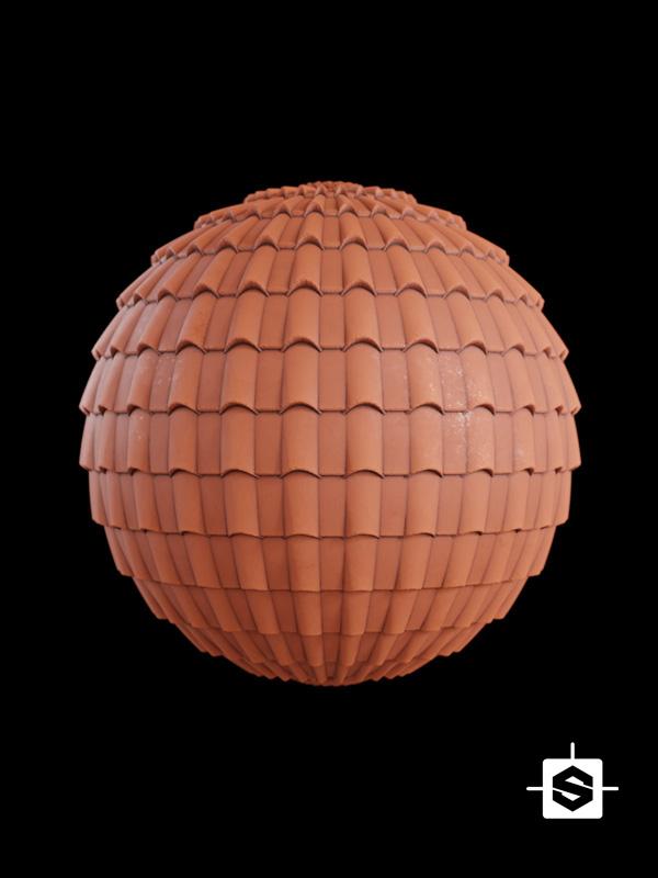 roof tiles terracotta