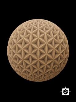 wood pattern stars ceiling furniture