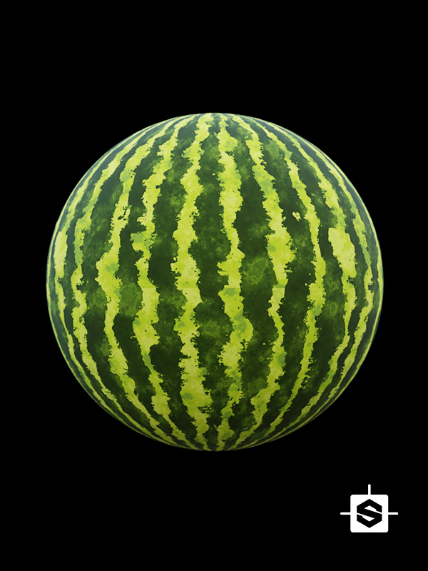 watermelon fruit food organic
