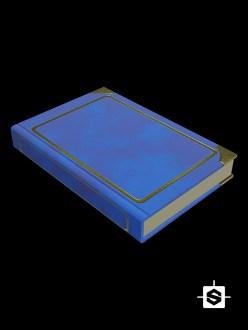 book asset stylized obj object
