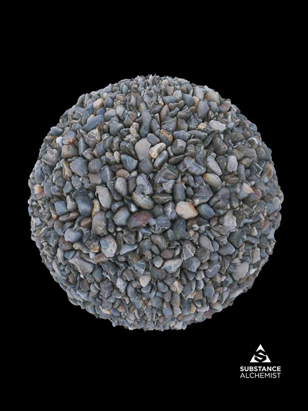 pebbles ground rock stones round rubble