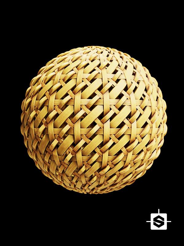 wood wicker rattan weave