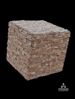 wall stone rocks medieval castle
