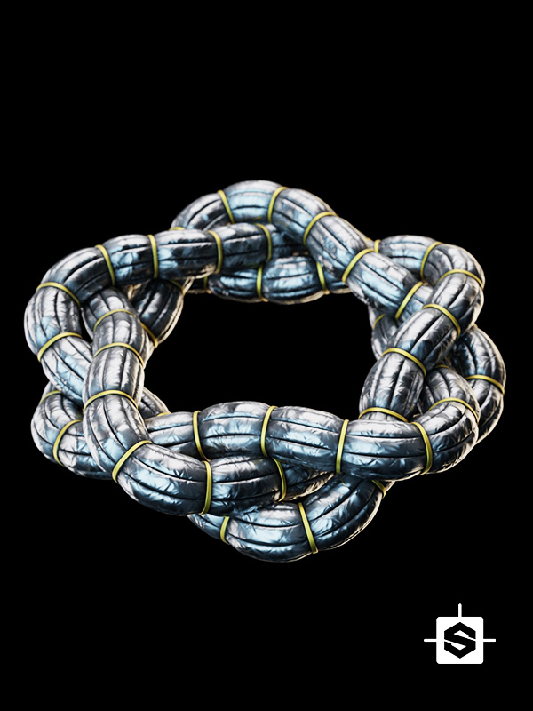 scifi sci-fi hose cable metal metallic