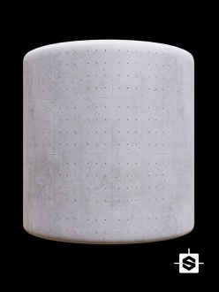 concrete wall cement block holes