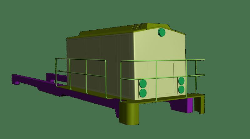 render Alstom BR 203 Project