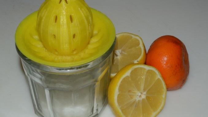 3D printed lemon juicer