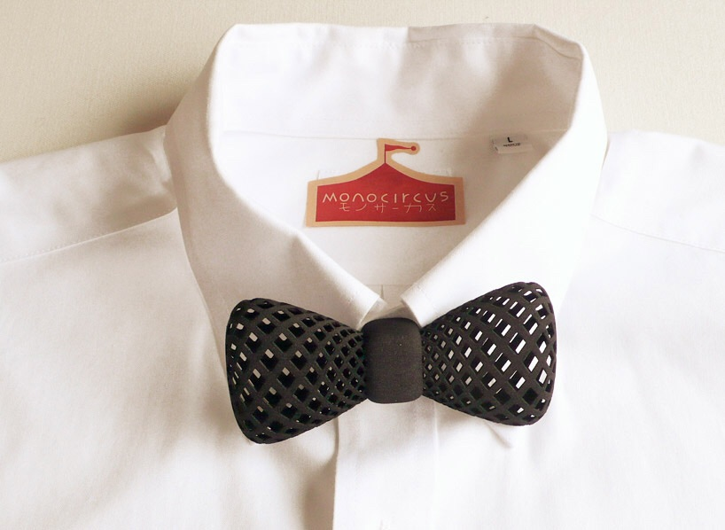 3D printed bowtie from Monocircus