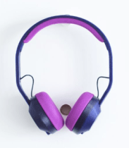 DIY headphone kit from print+
