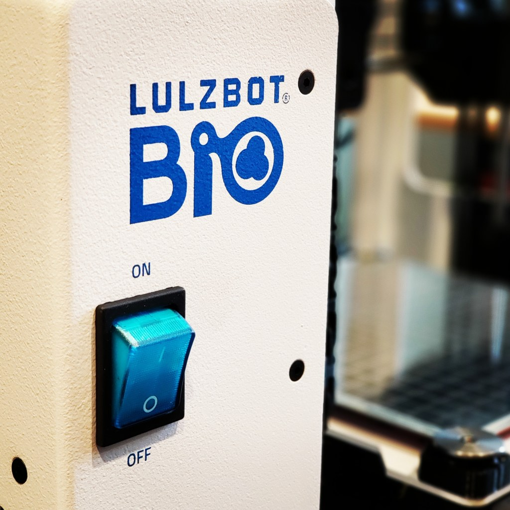 The Lulzbot Bio on display at the Lulzbot Bio Summit in Loveland, Colorado