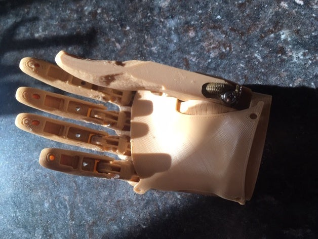 3D printed hand prosthetic being developed for the e-NABLE Community