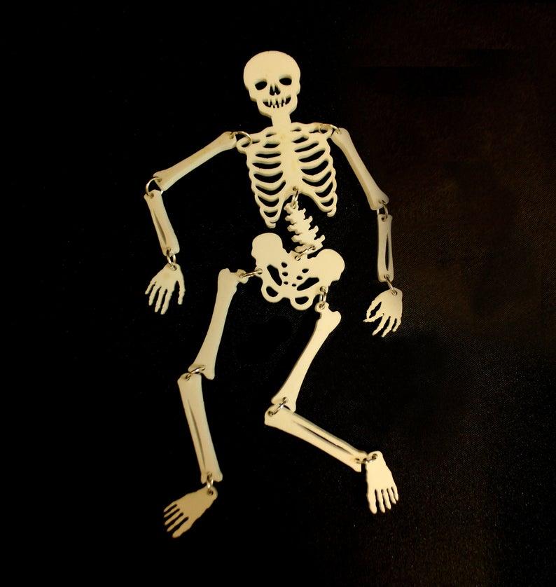 Laser Cut Skeleton design