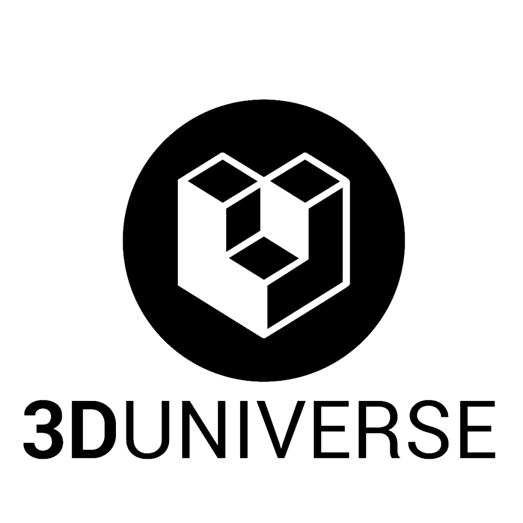 3D Universe Logo