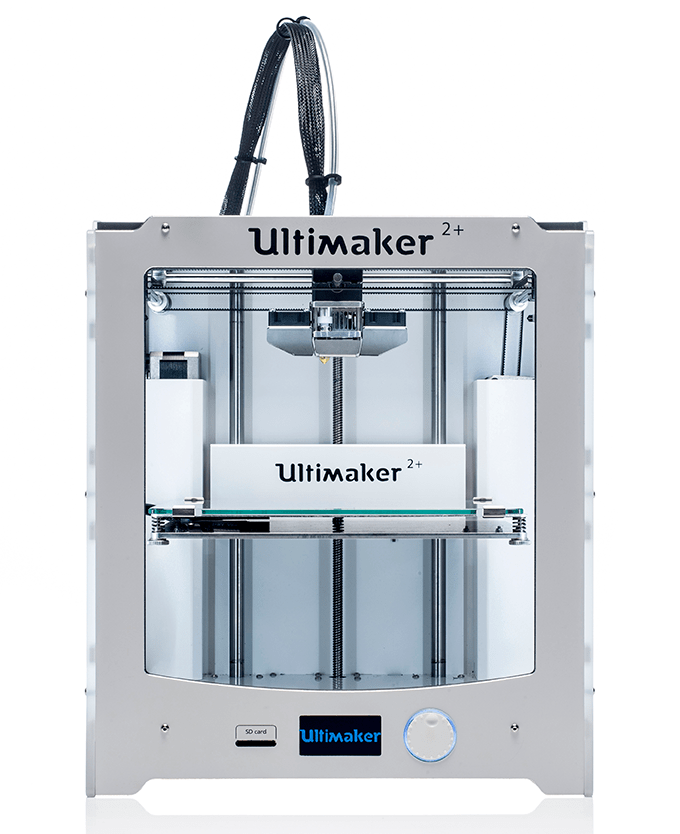 An Ultimaker 2+ 3D printer