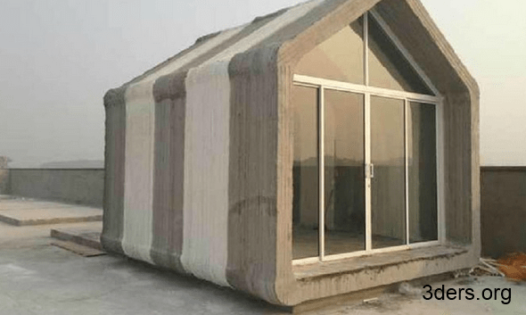 A 3D printed home for underserved communities