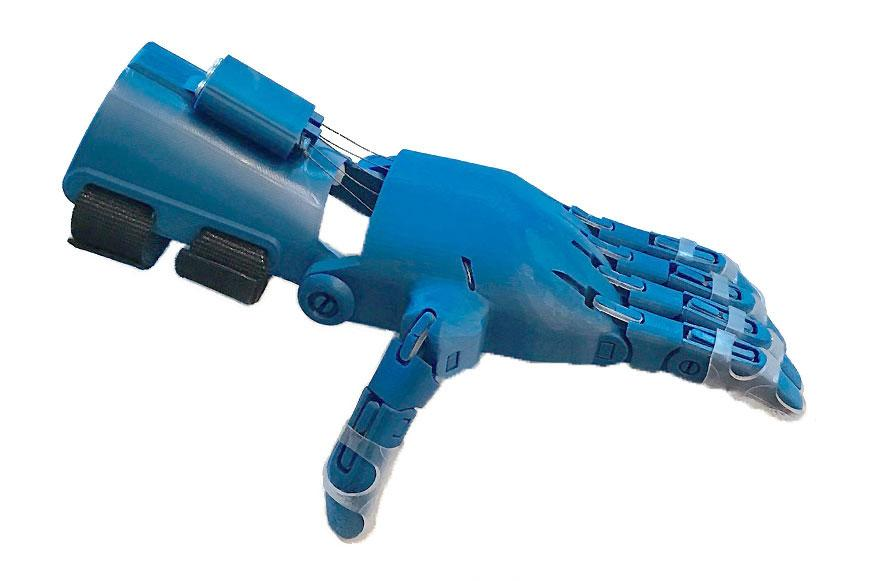 A 3d printed e-NABLE hand