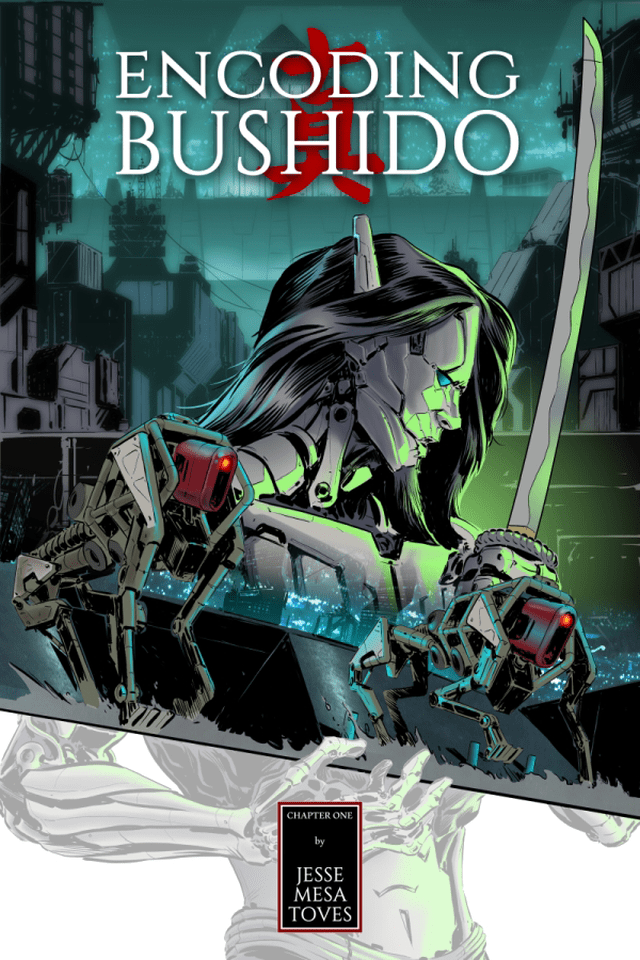 Jesse Toves's Encoding Bushido Comic
