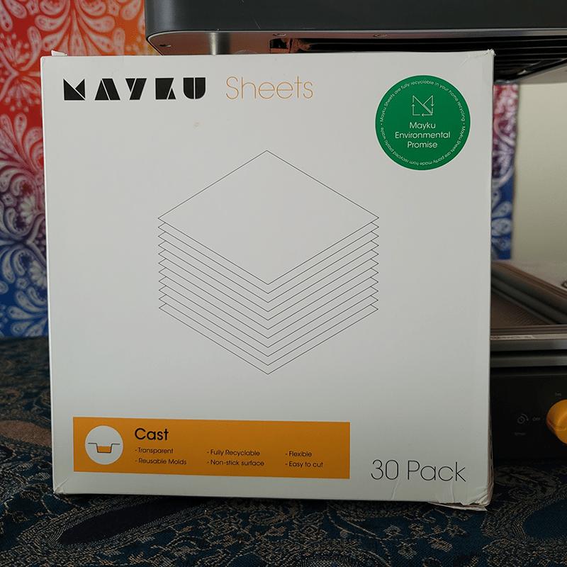 Mayku FormBox cast sheets, 30 pack