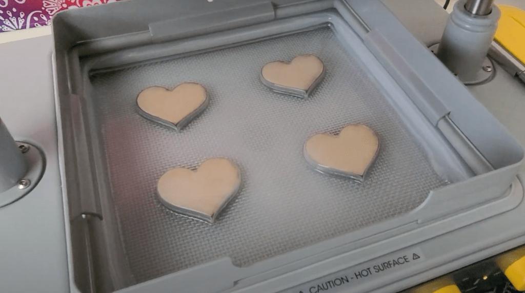 heart shape mold created on the Mayku FormBox