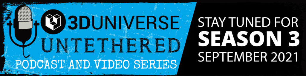 3D Universe Untethered Season 3 Coming Soon banner