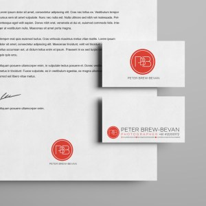 Peter Brew-Bevan - Stationery - Brand Design