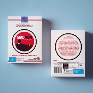 Universal Sony Pictures - Mad Men: The Complete First and Second Season - Packaging Design Sydney